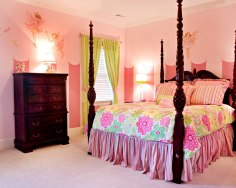 Fairy princess girl's room